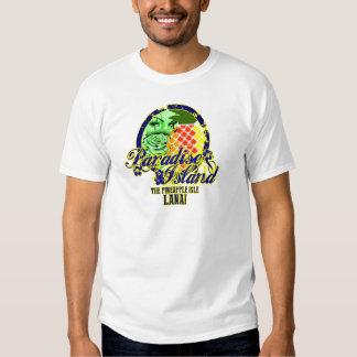 Ilha Lanai.png do paraíso Tshirt