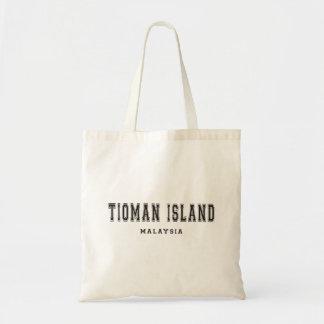 Ilha Malaysia de Tioman Bolsa Tote
