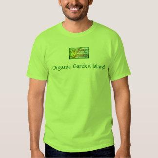 ilha orgânica Kauai do jardim do t-shirt do verde