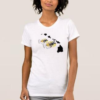 Ilhas de Havaí e peixes do estado de Havaí T-shirts