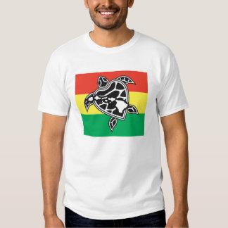Ilhas e tartaruga de Havaí Camiseta