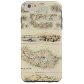 Ilhas portuguesas no Oceano Atlântico Capa Tough Para iPhone 6 Plus