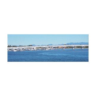 Ilhas soberanas Queensland Austrália de Broadwater Impressão Em Tela