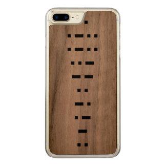 ILLUMINATI (código Morse) Capa iPhone 7 Plus Carved