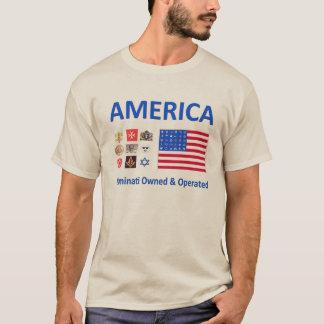 Illuminati possuiu & operado camiseta