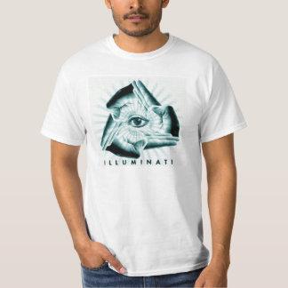 Illuminati toda a camisa de vista do gráfico do camiseta