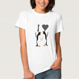 ILove esta imagem dos pinguins das camisetas