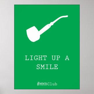 Ilumine acima um sorriso