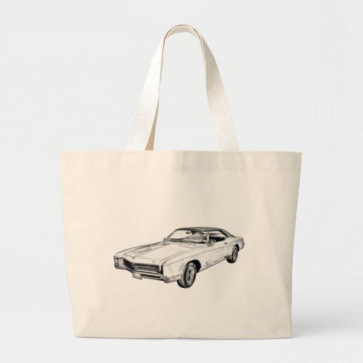 Ilustração 1967 de Buick Riviera Bolsas De Lona