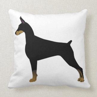 Ilustração básica da raça do cão do Pinscher do Almofada
