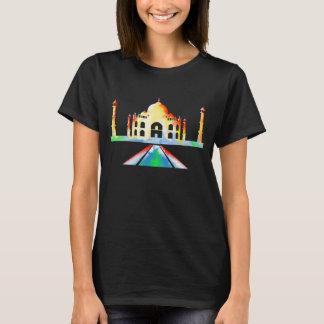 Ilustração colorida de Taj Mahal Camiseta