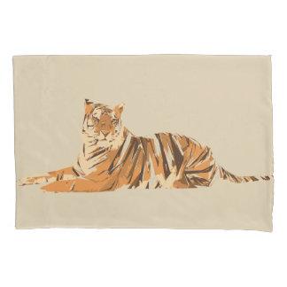 Ilustração da arte do polígono do tigre