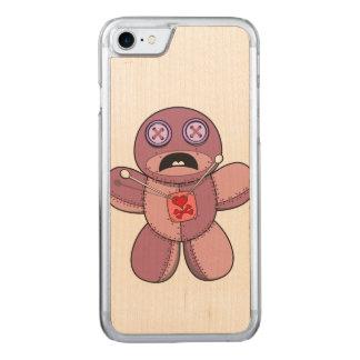Ilustração da boneca do Voodoo Capa iPhone 8/ 7 Carved
