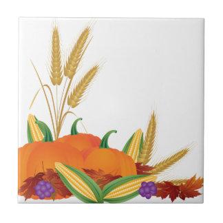 Ilustração da colheita da queda