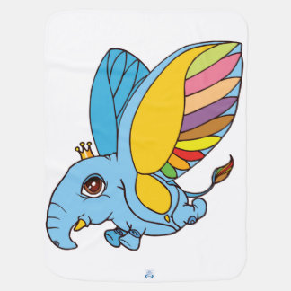 ilustração da criatura bonito da fantasia cobertorzinho para bebe