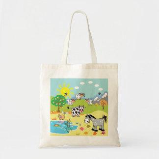 ilustração das crianças bolsa