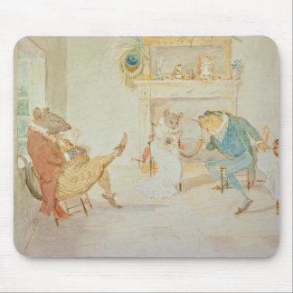 Ilustração 'de um sapo que um Go de corte Mouse Pad