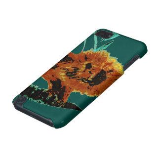 Ilustração do animal selvagem do leão capa para iPod touch 5G