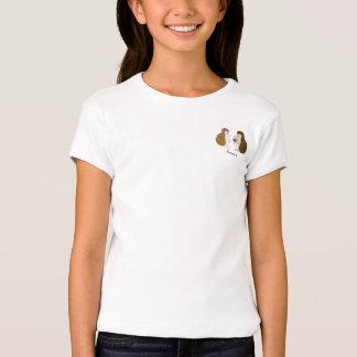Ilustração do bolso da flor do ouriço tshirts