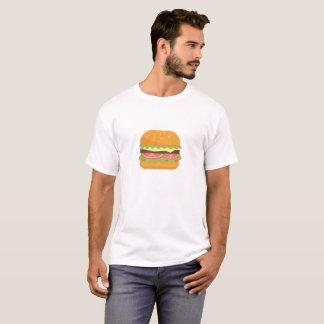 Ilustração do Hamburger com tomate e alface Camiseta