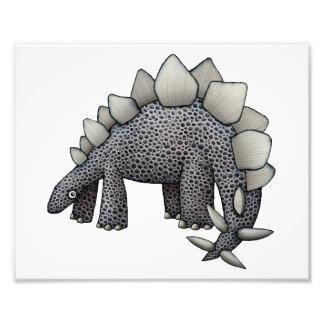 Ilustração do Stegosaurus Impressão De Foto