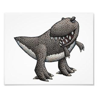 Ilustração do tiranossauro impressão de foto
