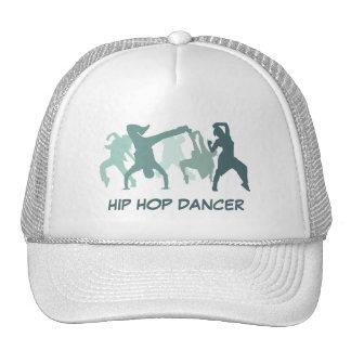 Ilustração dos dançarinos de Hip Hop Boné