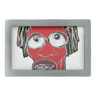 Ilustração grotesco da caricatura do homem