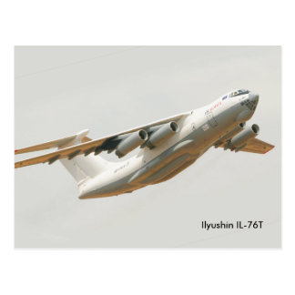 Ilyushin IL-76T para o cartão