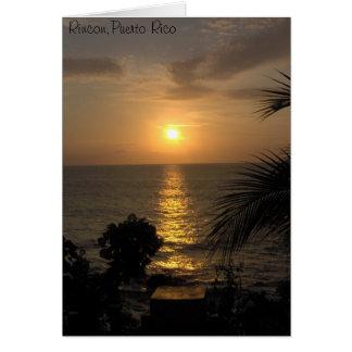 IM000881, Rincon, Puerto Rico Cartão