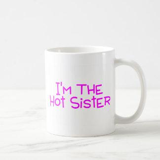 Im a irmã quente caneca