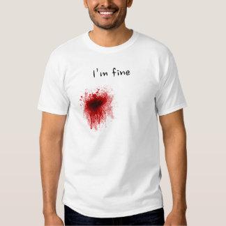 I'm fine ! camisetas
