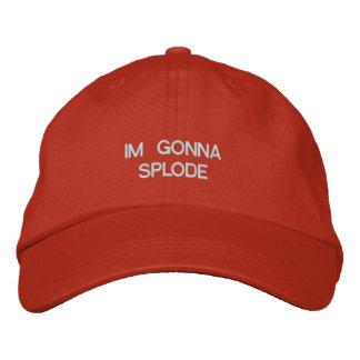 Im indo ao chapéu de Splode Boné