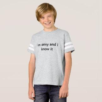 """im """"sexy"""" e eu sabem-no camisa"""