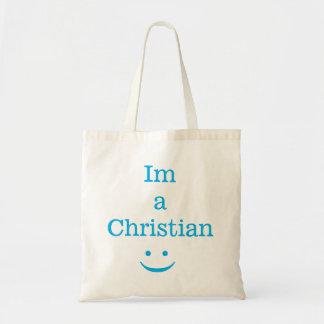Im um cristão bolsa tote