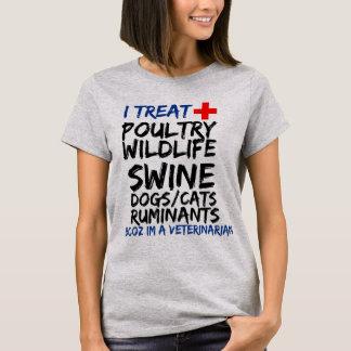 Im um veterinário! camiseta