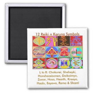 Imã 12 designs curas de Reiki n Karuna Reiki