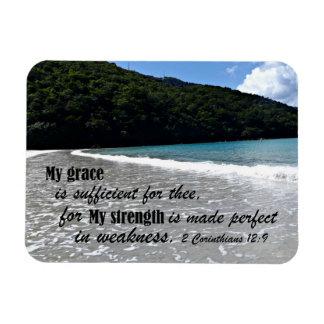 Ímã 2 12:9 dos Corinthians minha benevolência é