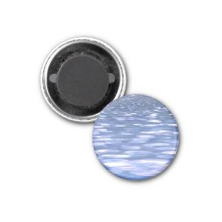 Imã #3 abstrato: Shimmer do azul de pó
