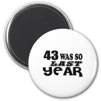Imã 43 era assim tão no ano passado o design do