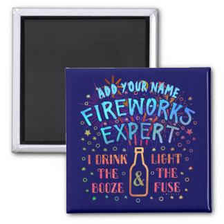 Imã 4o engraçado do perito V2 dos fogos-de-artifício