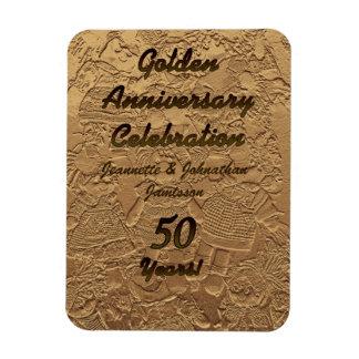 Ímã 50 da celebração do aniversário de casamento
