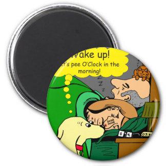 Imã 881 horas do xixi nos desenhos animados da manhã