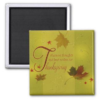 Imã A acção de graças deseja as folhas da tipografia -