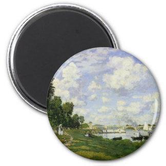 Imã A bacia em Argenteuil - Claude Monet