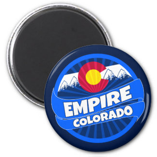 Imã A bandeira de Colorado do império estourou em