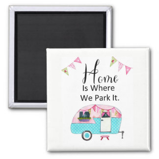 Imã A casa é o lugar onde nós a estacionamos -