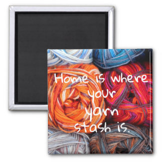 Imã A casa é o lugar onde seu stash do fio está