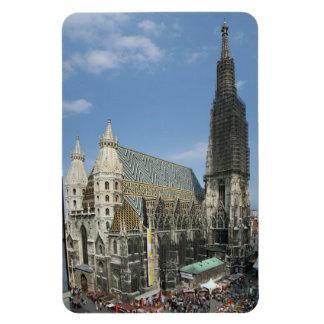 Ímã A catedral de St Stephen, Viena Áustria
