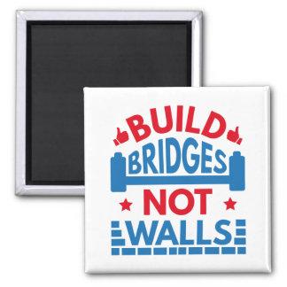 Imã A construção constrói uma ponte sobre não paredes